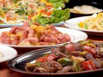 *沖縄の料理をたくさん楽しめる豊富なバイキング!(お食事イメージ)