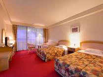 *洋室おまかせ部屋(客室一例)全室オーシャンビューのお部屋。南国リゾートをご堪能下さい。