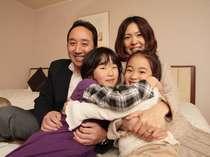 【家族旅】ゆったりとしたお部屋で、家族団らん。心に深く刻まれる旅の思い出を作りませんか