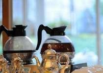 朝食時に、コーヒーのテイクアウトサービスを行っております。