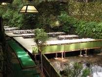 ≪川床プラン≫【貴船 ひろや】にて季節の会席料理をお召し上がりいただけます。