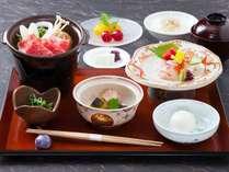 室数限定★平日だけの夕朝食付きプラン 日本料理 宝ヶ池 料理一例