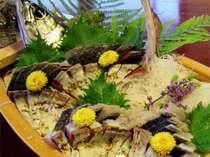 甘みと脂が口の中で広がる島鯖のあぶり
