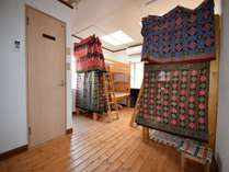 男女共用ドミトリー ベッド計8台のうちのベッド1台