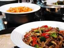 中華の定番料理もご用意。(和洋中ビュッフェ)