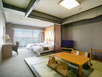 38平米の広々客室