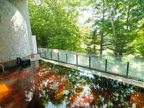 温泉と一緒に森林浴も満喫して下さい!