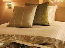 こだわりの寝具は、快適な睡眠をお約束いたします。