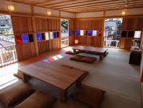 山代温泉「古総湯」の2階の休憩処