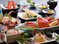 【カニ会席ST】かに料理5品の会席料理