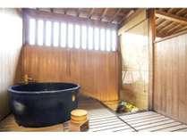 露付客室の露天風呂(イメージ)