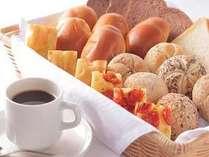 【朝食】バイキング 前売り¥1200☆当日は¥1300 お子様¥600。コーヒーはテイクアウトも出来ます♪