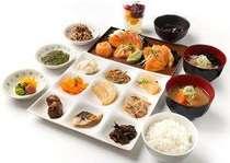 【朝食】和洋定食¥1300 お子様¥650
