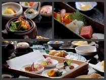 旬替わりご縁会席…日本海の海の幸を存分に味わってください。