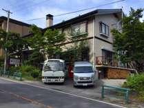 軽井沢の温泉宿「かしわ荘」