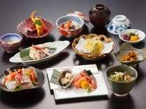 【7月から新メニュー】会席「能登膳」プラン☆☆たっぷりお造りと煮物、天ぷらなど