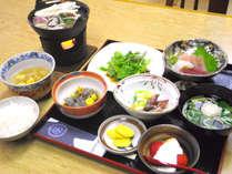 *夕食一例/素朴ながらも、長野の土地柄を感じる味覚をお楽しみください。