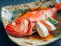 金目鯛の姿煮 奥深い京風の味付けに仕上げました。