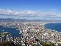 夜景だけではなく昼間の函館山からの景色も綺麗です