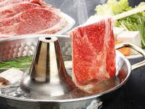 【黒毛和牛しゃぶしゃぶ鍋♪】上質なお肉をさっぱり味わう☆彡心も体もぽっかぽか♪