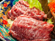 A5ランク黒毛和牛の秋田錦牛しゃぶしゃぶイメージ
