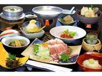 田沢湖産虹の豚を甘酒でしゃぶしゃぶ※内容はプランによって異なります。