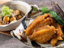 比内地鶏の手羽先唐揚げイメージ