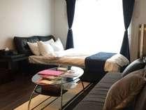 広島の中心地にありながら、静かでくつろげる部屋