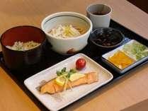 【ポイント4%】朝食付早得プラン◆早めの予約でお得にご宿泊◆朝食は日替り料理を1品チョイス