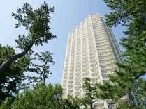 33階建ての高層コンドミニアムホテルです