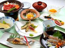 地元の食材を満喫☆季節の味覚プラン〔1泊2食〕