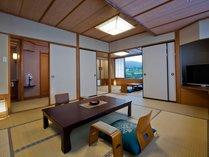 【露天風呂付客室・京近江】20畳を超える広くてゆったりとした和室