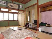 こちらは 景色の見える9畳和室です。の画像