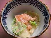 栃木県に干瓢が伝わり今年で300年。朝食に干瓢のサラダをお出ししています。