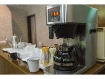 無料のコーヒーのサービスもございます。