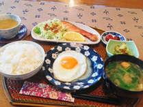 【朝食】体に優しい朝食。美味しい朝食で元気に一日の始まりを♪