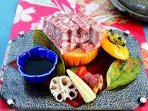 人気のディナービュッフェに肉質日本一の評価を受けた「鳥取和牛の陶板焼き」付き≪夢≫ ≪4~10月≫