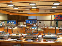 ◆ご夕食は、新鮮魚介と季節の恵み満載!バラエティ豊かなお料理をビュッフェスタイルでお楽しみ下さい。