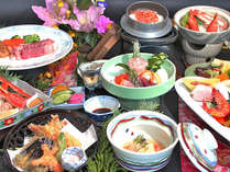 ◆贅を尽くした美食メニュー!「雅会席」