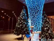 クリスマス色のロビー★
