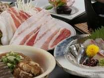 とんこつ煮やキビナゴetc…鹿児島の自慢の特産品を召し上がれ♪