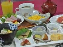 鹿児島の郷土もご用意♪朝ごはんもしっかりおなかいっぱいいただけます!