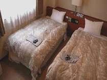 2Lタイプ、3Lタイプの和洋室にあるツインルーム