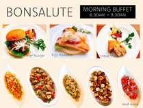 ホテルキッチンで手作りされる洋食の料理をブッフェ形式でご用意しております。