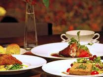 ★メニューは日替わり★その日に獲れた新鮮野菜がソースや添え物に変身!メインを美味しくサポートします☆