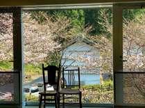 【桜の絶景】ホテルの周り、敷地は、高知でも有数の桜の名所!客室からの眺望は感動レベルです!