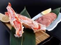 人気のタラバ蟹&牛タン♪お魚たっぷりもいいけど、お肉もちょっぴり食べたいよね