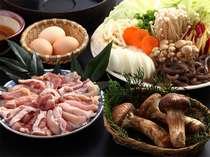 ≪松茸入り≫地鶏味噌すき焼き★食欲の秋限定!特典付き♪