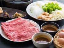 美さえも感じる『京都肉』×オリジナル『味噌だれ』◆京都肉味噌すき焼き◆