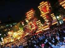 日田祇園祭り「集団顔見せ」